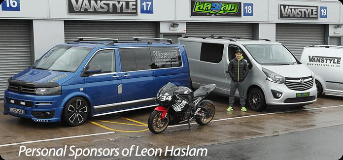 Personal Sponsors of Leon Haslam