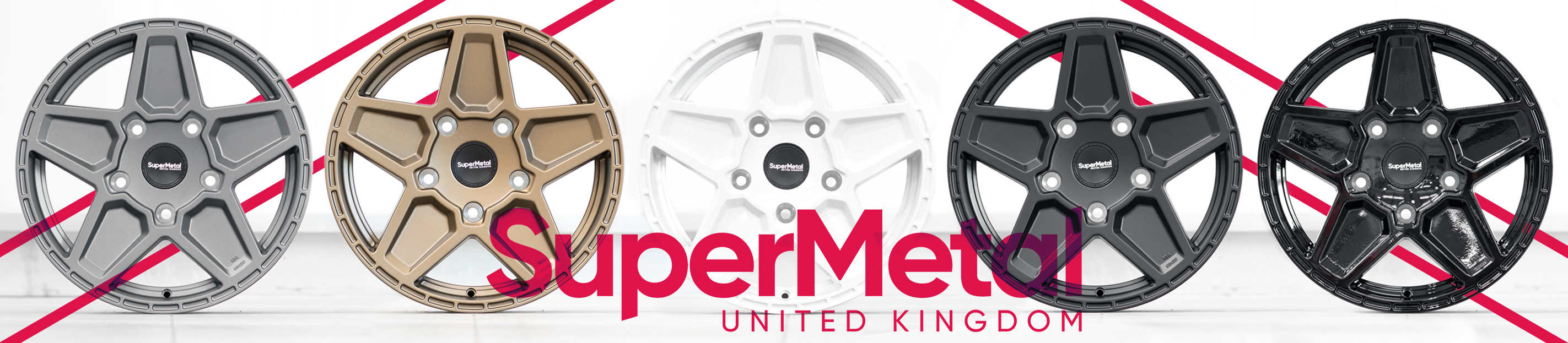 See our full range of SuperMetal Alloy Wheels