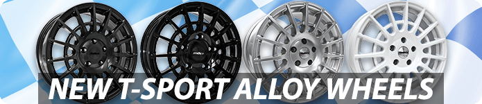 NEW Calibre T-Sport Alloy Wheels