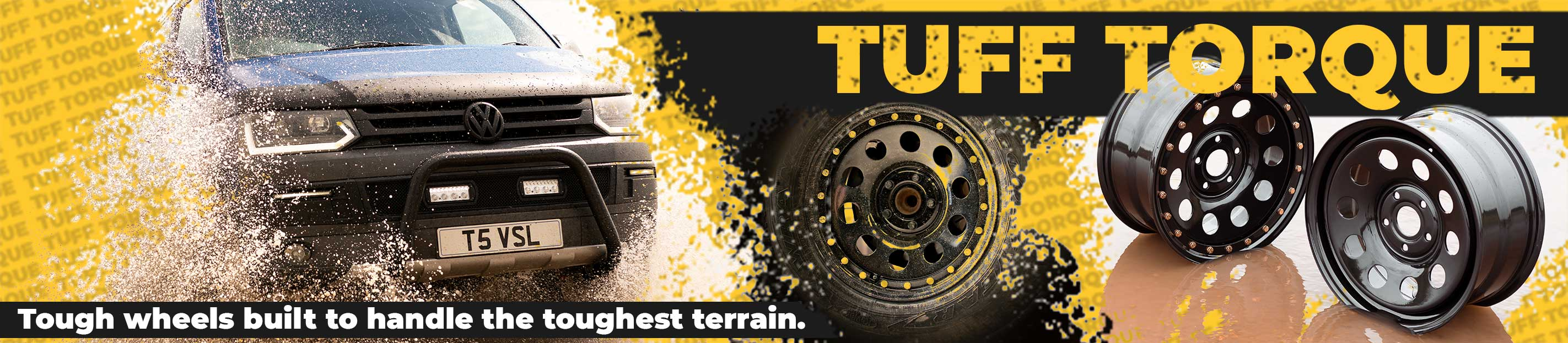 Check out our new range of Tuff Torque Steel Wheels