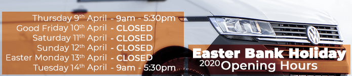 Easter Bank Holiday 2020 Open Hours