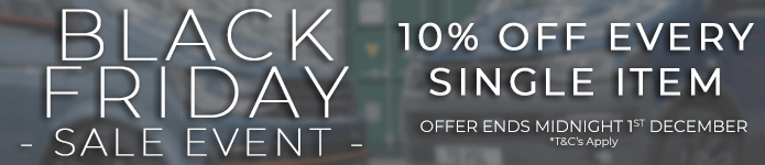 BUY NOW - 10% Black Friday Offer Ends Midnight 1st December