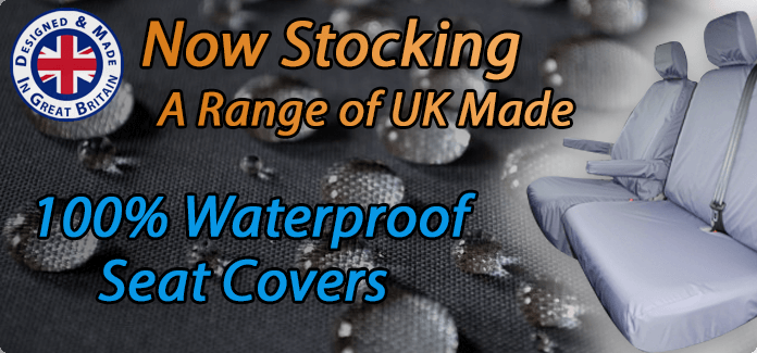 UK Made 100% Waterproof Seat Covers