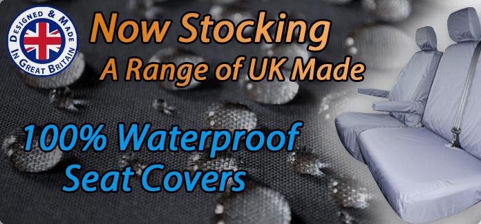 UK Made 100% Waterproof Seat Covers
