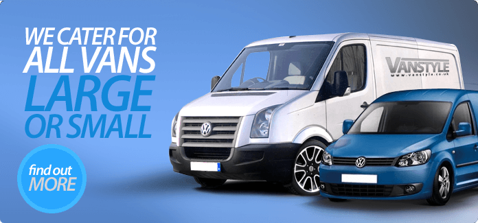 Large or small vans we cater for them all.