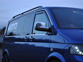 VW T5 & T6 Sidebars and Roof Bars - Black Pack - SWB and LWB