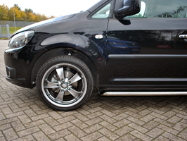 Vanstyle Sport 50mm Stainless Steel Sidebars VW Caddy SWB 04>