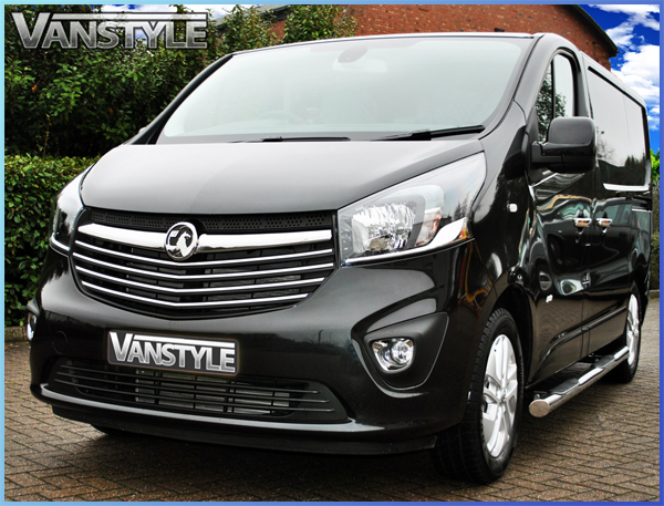 2014 Renault Trafic Lwb 76mm Side Steps Quality Stainless Steel