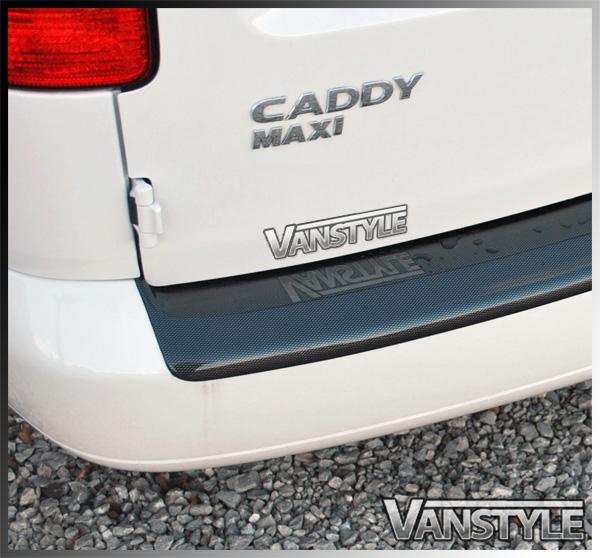 VW Caddy & Maxi ABS Rear Bumper Protector 04-10 & 10-15