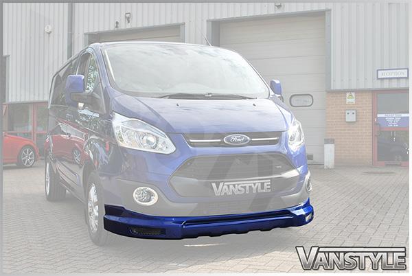 VS Sport Front Splitter Ford Transit Custom 2012 2018