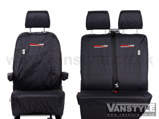 Genuine VW Waterproof Sportline Seat Covers - Vanstyle