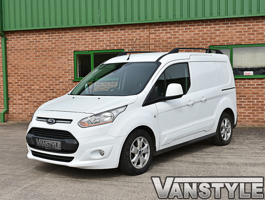 Ford Connect 14> SWB Aluminium Matt Black Roof Bars