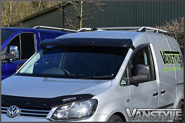 Black Acrylic High Impact Sun Visor - VW Caddy Maxi - Vanstyle 68ec67d2e2d