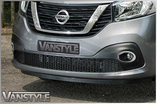 Trafic Nv300 2pcs Stainless Steel Fog Light Surrounds Vanstyle