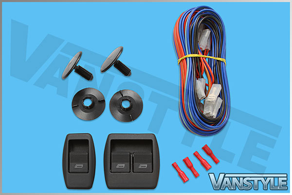 VW T4 Transporter Caravelle Electric Window Kit - Vanstyle