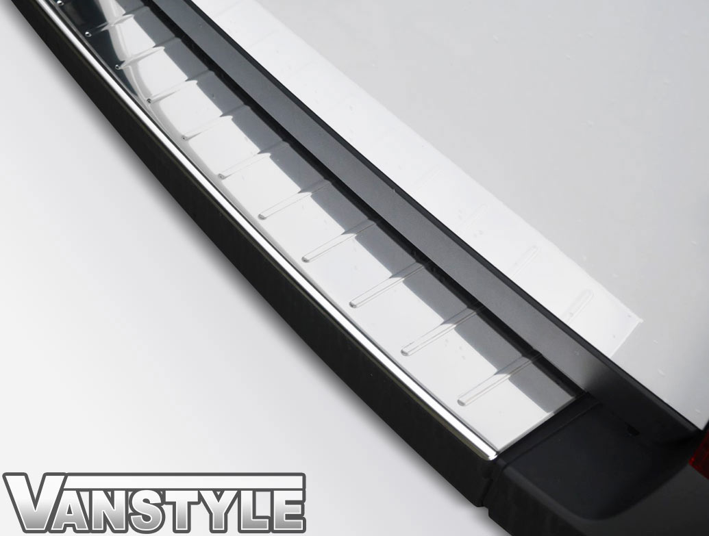 Polished Stainless Steel Rear Bumper Protector - Crafter / TGE