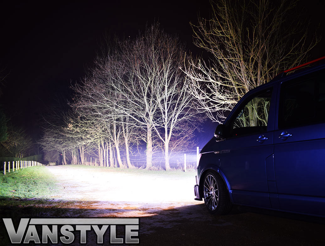 Lazer ST4 LED Spot Light Twin Grille Kit - VW T6
