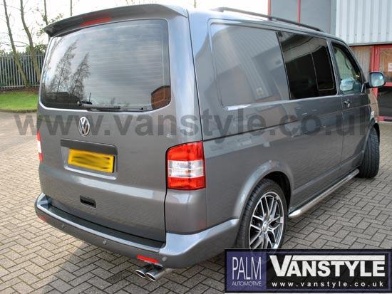 VW T5 Caravelle Multivan ABS Rear Bumper Protector 03-09 10