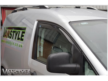 Side Wind Deflectors (Front Doors) VW Caddy 2Dr 04-15 & 15>