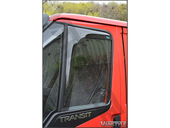 Side Window Deflectors - Ford Transit 3/2000-