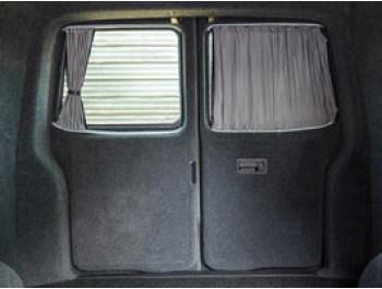 VW T5/T6 Tailored Curtain Set - SWB Twin Door Full Window Set