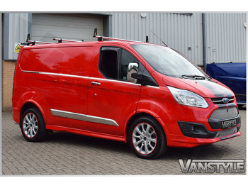 Ford Transit Custom 2012> Climair Front Side Wind Deflectors