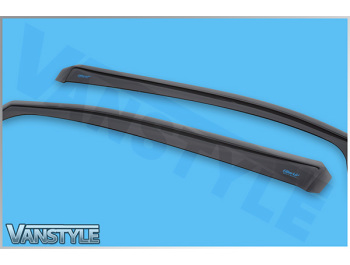 Side Wind Deflectors (Front) Ford Transit Connect 2014>