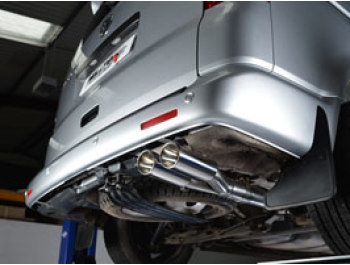 Milltek VW T5 SWB - Twin Tail Pipe Exhaust System