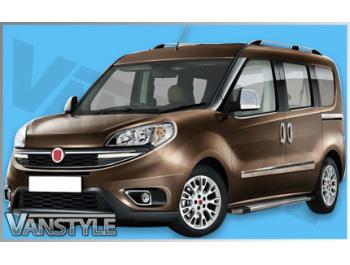 Fiat Doblo  Vauxhall Combo Aluminium Roofbars 2010> SWB & LWB