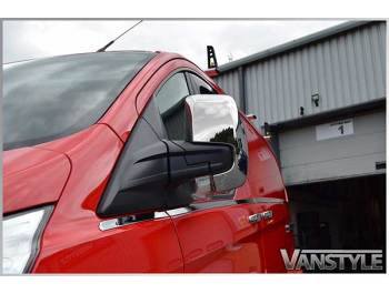 Ford Transit Custom Chrome Polished ABS Mirror Covers