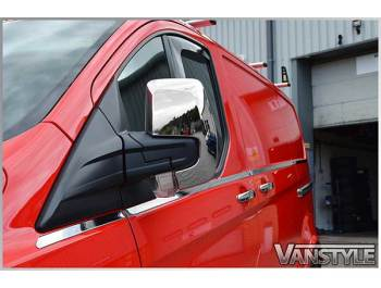 Ford Transit Custom Stainless Steel Window Trims 8pcs