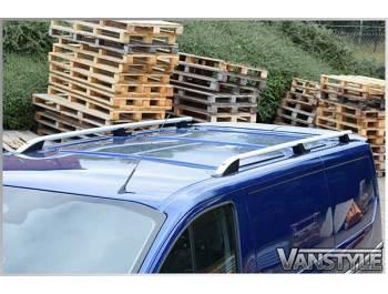 Vivaro/Trafic/Primastar Aluminium Silver Roof Styling Bars