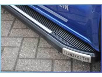 VW Transporter t5 side step set in grey