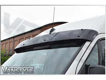 Black Acrylic High Impact Sun Visor - Crafter & Sprinter