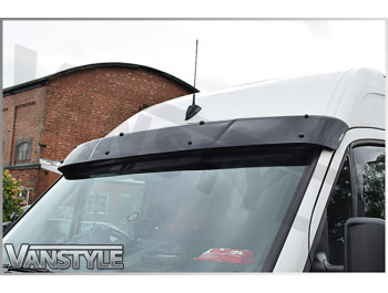 Black Acrylic High Impact Sun Visor - Ford Connect 03-14