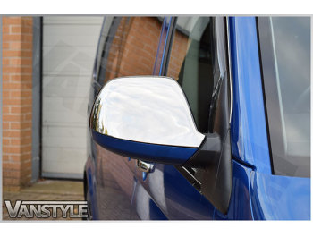 Stainless Mirror Covers VW T6 2015>