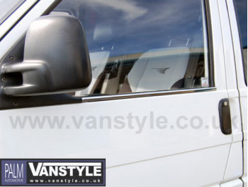 Stainless Steel Window Trims Volkswagen VW T4 90-03