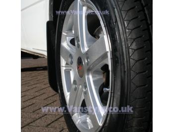 "Viper Van Wheel 15\"" Brite Metal Transit Custom Alloy Wheels"