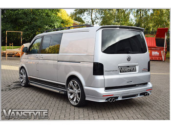 ABT Rear Bumper Skirt VW T5 03-15 & T6 Twin Door 15>
