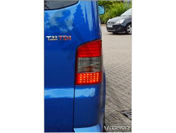 Rear Lamp Set LED Tailgate Models VW T5 03-09