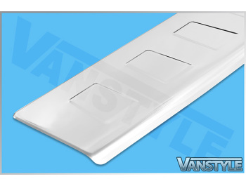 Stainless Steel Rear Bumper Protector VW T4 1990-2003