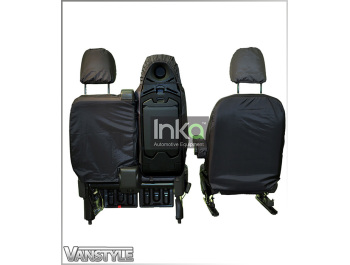 Premium VAUXHALL VIVARO SPORTIVE Waterproof Heavy Duty Front Single Seat Cover