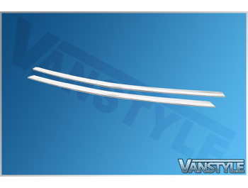 Mercedes Vito Panel & Mixto 2Pc. S.S Lower Front Grille Trim 14>