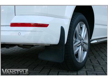 Genuine VW T6 T6.1 15> Rear Mud Flaps