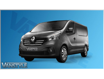Renault Trafic 2014-19 5Pcs Stainless Front Grille Trim