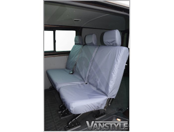 100% Waterproof Tailored Rear Seat Covers T5 & T6