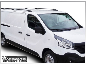 Vivaro 14>19 & Trafic 14> Aluminium Black Roof Styling Bars