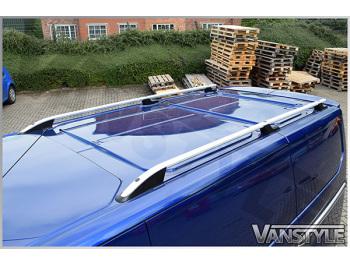 Ford Transit MK8 Aluminium Silver Roof Styling Bars 2014-2019>