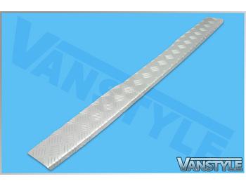 14> Vito 3D Aluminium Chequer Plate Bumper Protector
