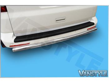 60mm Profiled Rear Protection Guard Bar VW T5 / T6